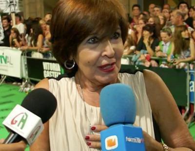 """Concha Velasco: """"El premio a los guionistas de 'Gran Hotel' me emociona porque siempre son los grandes marginados"""""""