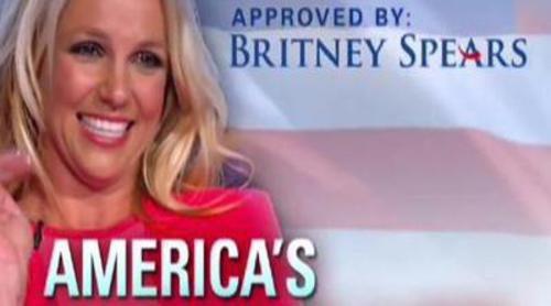 Britney Spears pide el voto al estilo de las campañas presidenciales de Estados Unidos en 'The X Factor'