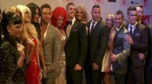 Los concursantes de 'Gandía Shore' conocen a los de 'Geordie Shore' en los MTV EMA 2012