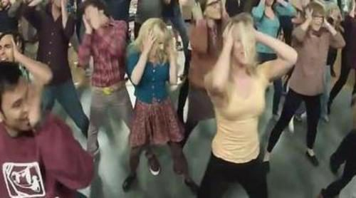 El flashmob de 'The Big Bang Theory' revoluciona la red