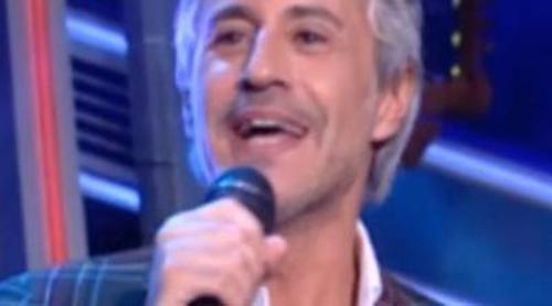 """Sergio Dalma ameniza al público de 'El hormiguero' durante la publicidad cantando """"Yo no te pido la luna"""""""