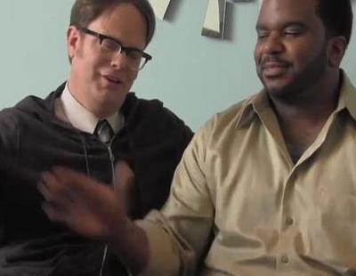 Rainn Wilson imita a Angus T. Jones y pide que no veas 'The Office'