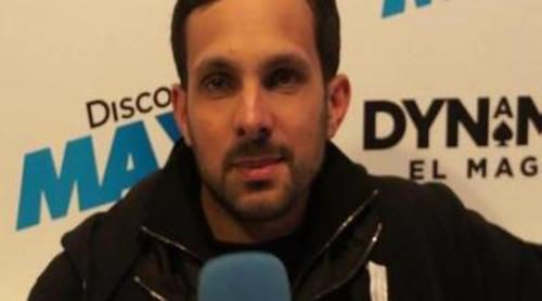 """Dynamo: """"Me gusta el mago Juan Tamariz. Grita mucho, pero es increíble"""""""