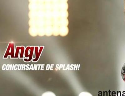 Antena 3 promociona la participación de Angy en 'Splash! Famosos al agua'