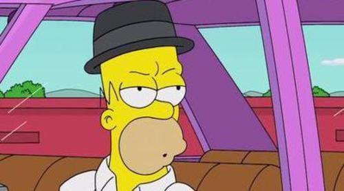 'Los Simpson' parodian a 'Breaking Bad' en el nuevo gag de su cabecera