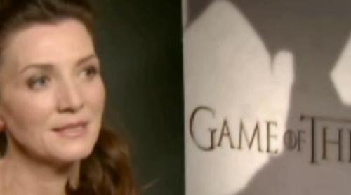 """Michelle Fairley ('Juego de tronos'): """"Catelyn no quiere que su hijo sea el rey en el Norte porque sabe lo que implica"""""""