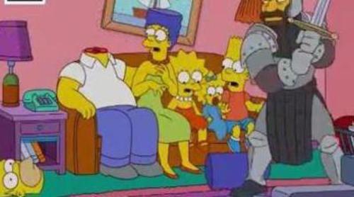 'Los Simpson' homenajea de nuevo a 'Juego de tronos' en su cabecera