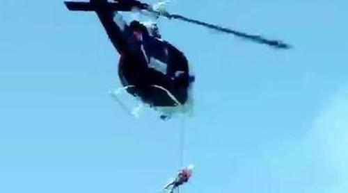 Los aspirantes de 'Desafío en el abismo' saltarán desde un helicóptero