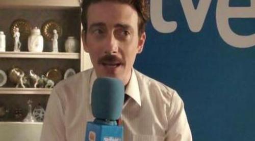 """Víctor Clavijo: """"Emilio Gutiérrez Caba me ha puesto el listón muy alto. Hace un trabajo impresionante en 'Gran Reserva'"""""""