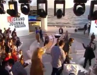 Un tiroteo en Cannes interrumpe la emisión del informativo de Canal+
