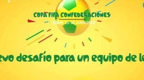 Promo de la Copa Confederaciones, nuevo desafío para un equipo de leyenda