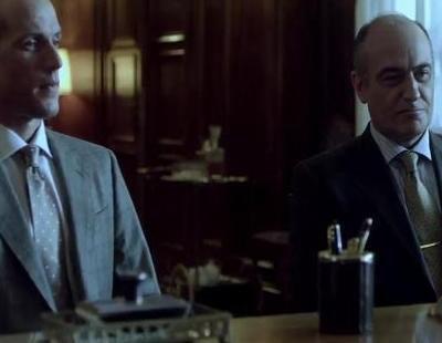 Tenso encuentro entre Mario Conde y el Gobernador del Banco de España en el avance de 'Mario Conde, los días de gloria'