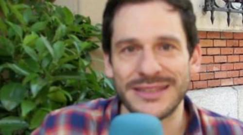 """César Camino: """"Jorge, mi personaje, entrará en la vida de Lola para ayudarla y que se haga más independiente"""""""