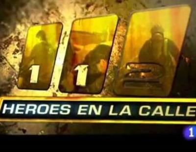 Cabecera del docu-reality '112. Héroes en la calle' de La 1