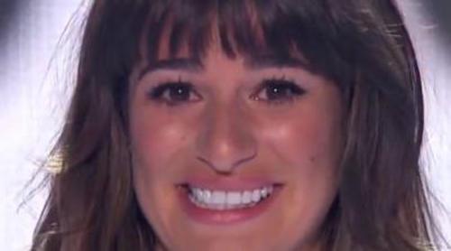 Lea Michele reaparece en los Teen Choice Awards para agradecer el apoyo tras la muerte de Cory Monteith