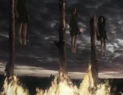 Brujas en la hoguera en el cuarto teaser de 'American Horror Story: Coven'