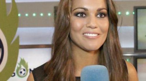 """Lara Álvarez: """"Ahora mismo 'Jugones' es el programa del sueño de cualquier periodista deportivo"""""""