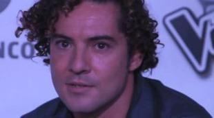 """David Bisbal: """"La complicidad que hay entre los coaches de 'La Voz' está por descubrir"""""""