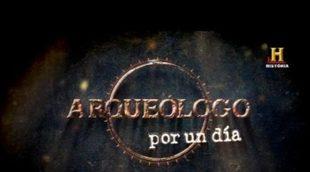 Historia estrena este domingo, con la participación de famosos, 'Arqueólogo por un día'