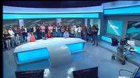 Así han anunciado los trabajadores el cierre de Canal 9