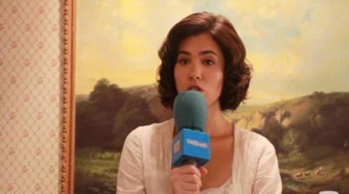 """Loreto Mauleón ('El secreto de Puente Viejo'): """"María intentará ser feliz con Gonzalo, aunque su relación es un amor imposible"""""""