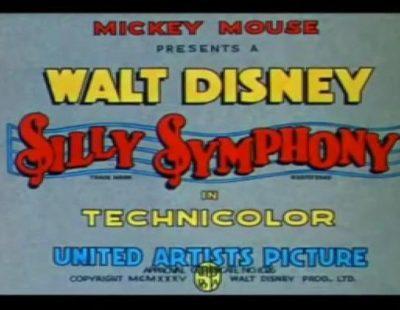 """Arranque del corto """"MusicLand"""" de 1935, versionado por 'Los Simpson'"""
