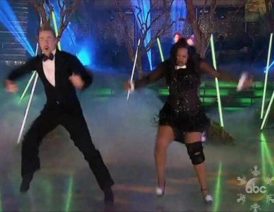 """Amber Riley gana 'Dancing with the Stars' al ritmo de """"What does the Fox Say?"""""""