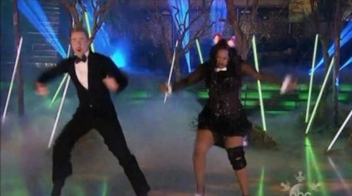 "Amber Riley gana 'Dancing with the Stars' al ritmo de ""What does the Fox Say?"""