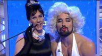 Christian Gálvez y Álex García se disfrazan de Audrey Hepburn y Marilyn Monroe en 'Pasapalabra'