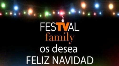 La familia del FesTVal felicita la Navidad emulando la cabecera de 'Modern Family'
