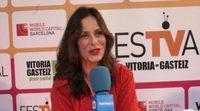 """Aitana Sánchez-Gijón: """"'Galerías Velvet' está a la altura de las mejores series tanto españolas como extranjeras"""""""