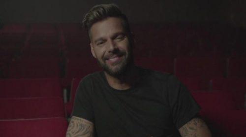 Ricky Martin saluda a los espectadores de Cuatro
