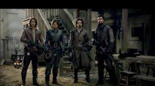 Primer trailer de 'Los Mosqueteros' de BBC One