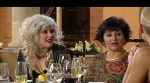 "Mari Carmen llama ""gordilla"" a Andrea en la Nochevieja tróspida de Cuatro"