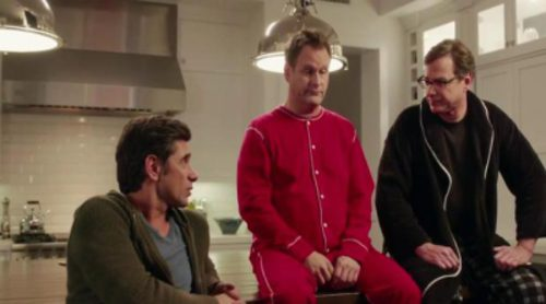 Los protagonistas de 'Padres forzosos' se reencuentran en el anuncio de la Super Bowl de Dannon Oikos