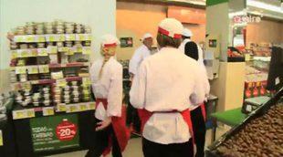 Los concursantes de 'Deja sitio para el postre' se pelean ante la ausencia de límite de presupuesto en el supermercado