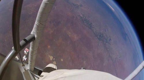 Anuncio de 'GoPro: Red Bull Stratos', con Felix Baumgartner, de la Super Bowl 2014