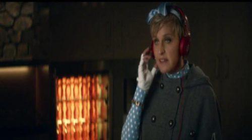 Anuncio de Beats Music con Ellen DeGeneres para la Super Bowl 2014