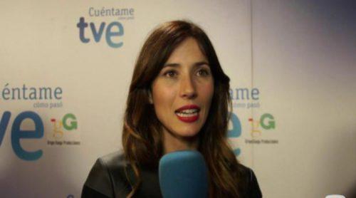 """Bárbara Goenaga: """"Mi personaje entra a 'Cuéntame' a apaciguar los resquicios que quedan del paso de Carlos por la cárcel"""""""