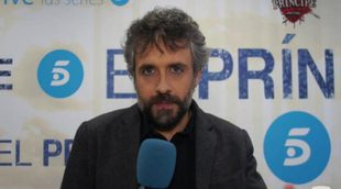 """Pau Durà ('El príncipe'): Es muy complicado hacer una serie de esta calidad en el tiempo en el que se hace"""""""
