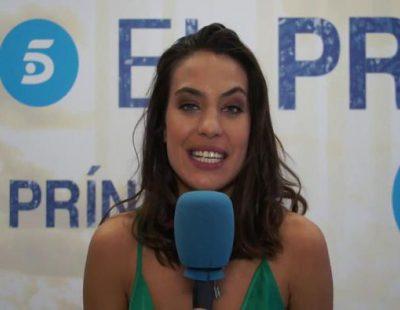 """María Guinea: """"Rubén Cortada (Faruq) está increíble en 'El Príncipe', me ha ayudado muchísimo"""""""