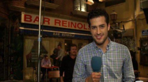 FórmulaTV se cuela en el último día de rodaje de 'Aída'