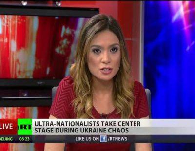 Dimisión en directo de Liz Wahl en Russia Today