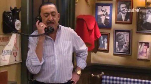 Mauricio Colmenero pide a Paco Torreblanca una tarta para el plató de 'Aída' en 'Deja sitio para el postre'