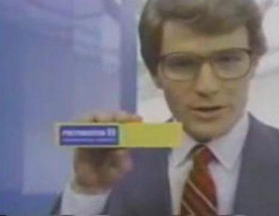Bryan Cranston anunciando una crema contra las hemorroides en los 80