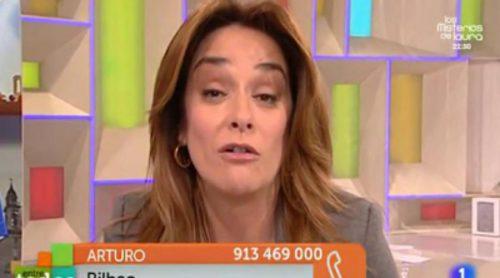 Un espectador pide a Toñi Moreno que done parte de su sueldo en 'Entre todos'