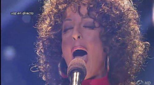 """Ruth Lorenzo imita a Whitney Houston en 'Tu cara me suena' con """"I Have Nothing"""""""