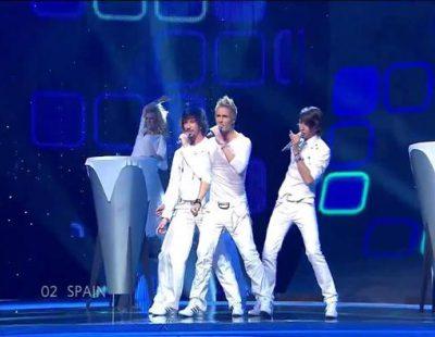 """NASH con """"I love you mi vida"""", representantes de España en Eurovisión 2007"""