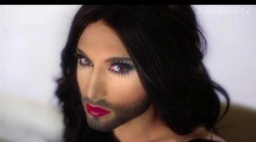 """Conchita Wurst con """"Rise Like a Phoenix"""", representante de Austria en Eurovisión 2014"""