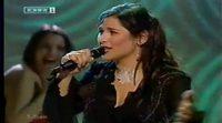 """Rosa con """"Europe's Living a Celebration"""", representante de España en Eurovisión 2002"""